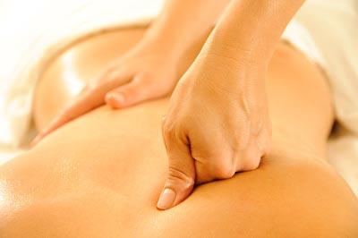 Stimulierende Faszienmassage