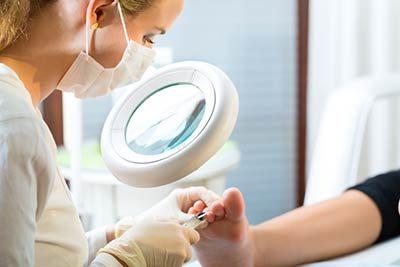 gepflegte Füße durch professionelle Fußpflege